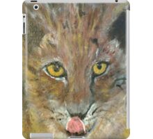 Yellow Eyed Cat iPad Case/Skin