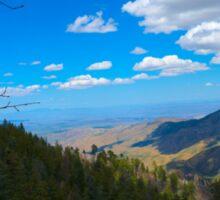 Breathtaking Mt. Lemmon Sticker