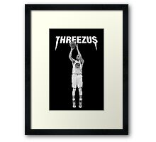 THREEZUS - Stephen Curry  Framed Print