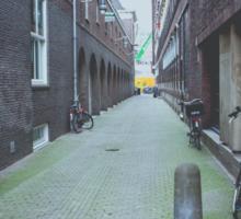 Lonely Street Sticker