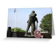 Hudson County Korean War Veterans Memorial Greeting Card