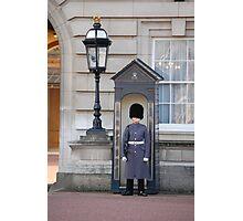 Gaurds outside Buckingham Palace Photographic Print