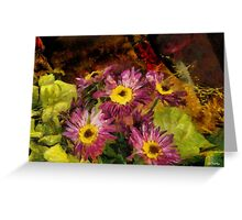 Little Chrysanthemums Greeting Card