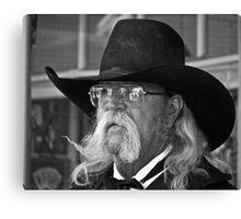 Big Black Hat Canvas Print