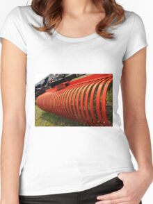 Farm equipment Women's Fitted Scoop T-Shirt