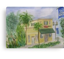 Bull Bar on Atlantic Ave Delray Beach Canvas Print