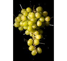 Grapes Colour Photographic Print