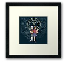Mystery Twins Framed Print