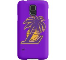 Los Angeles Lakers Tropical Logo Samsung Galaxy Case/Skin