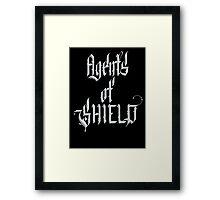 Agents of S.H.I.E.L.D Level 7 Framed Print