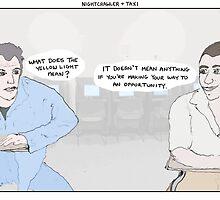 Nightcrawler + Taxi by altanimus