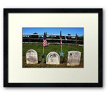 Soldier's Memorial Framed Print