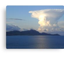 The Proudest Cloud Canvas Print