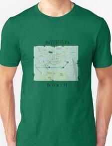 Map of Beleriand  T-Shirt