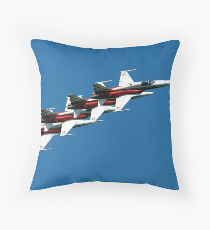 patrouille suisse Throw Pillow