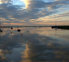 Dawn at Orford Ness  by Simon Mears
