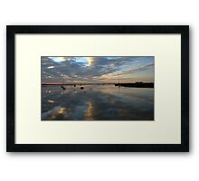 Dawn at Orford Ness  Framed Print