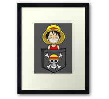 Cheeky Pirate Framed Print