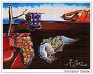 Salvador Dalek by ToneCartoons