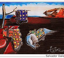 Salvador Dalek by ToneCartoons