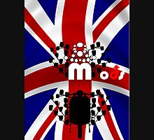U.K. Mods  016.PNG Mens V-Neck T-Shirt