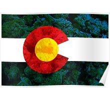 Colorado Chronic Flag Poster