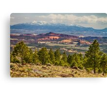 Spectacular Utah Landscape Views Canvas Print