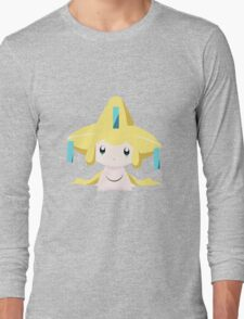 Jirachi Pokemon Simple No Borders Long Sleeve T-Shirt