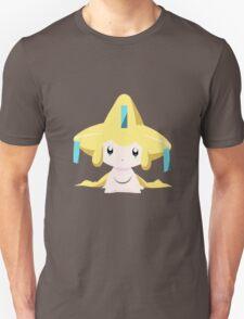 Jirachi Pokemon Simple No Borders Unisex T-Shirt