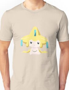 Jirachi Pokemon Simple No Borders Unisex T-Shirt