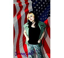 Fighting For My Independence Photographic Print