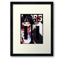 Sailor Mars 00 Framed Print