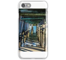 Pier Below iPhone Case/Skin