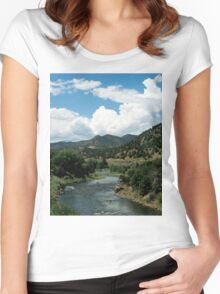 Water Valley Women's Fitted Scoop T-Shirt