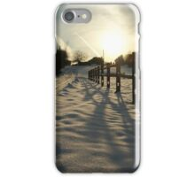 Fence Set iPhone Case/Skin