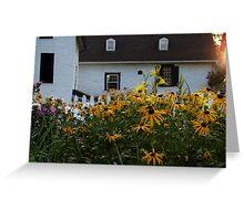 Mabee Farm House Greeting Card
