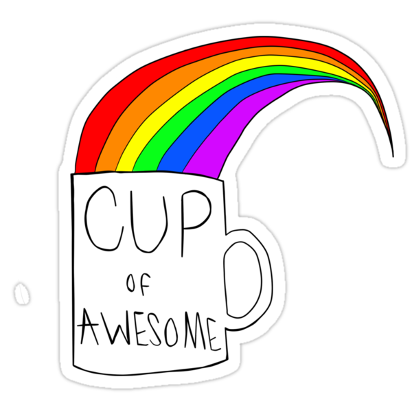Cup Of Awesome by breathee