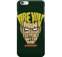 Guile Wins iPhone Case/Skin