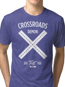 CROSSROADS DEMON Tri-blend T-Shirt