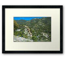 Sky Highway Framed Print