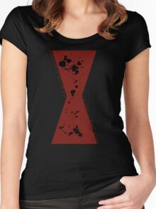 Red in my Ledger v2 Women's Fitted Scoop T-Shirt