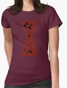 Red in my Ledger v2 Womens Fitted T-Shirt