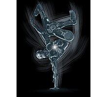 Dancing Robot Photographic Print