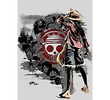 Straw Hats Photographic Print