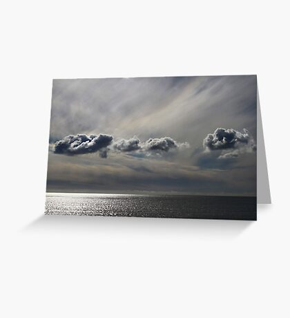 Painted Clouds Greeting Card