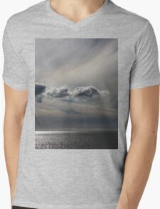 Painted Clouds Mens V-Neck T-Shirt