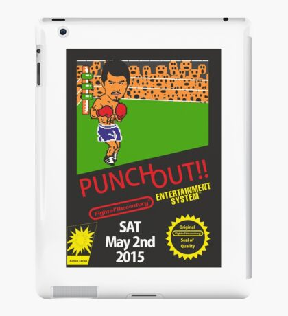 Floyd Mayweather, Jr. Nintendo Punch out parody !!! iPad Case/Skin