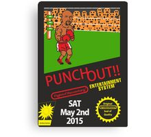 Floyd Mayweather Nintendo Punch out parody !!! Canvas Print