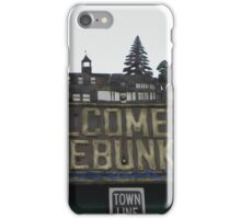 Welcome to Kennebunkport iPhone Case/Skin