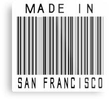 Made in San Francisco Metal Print